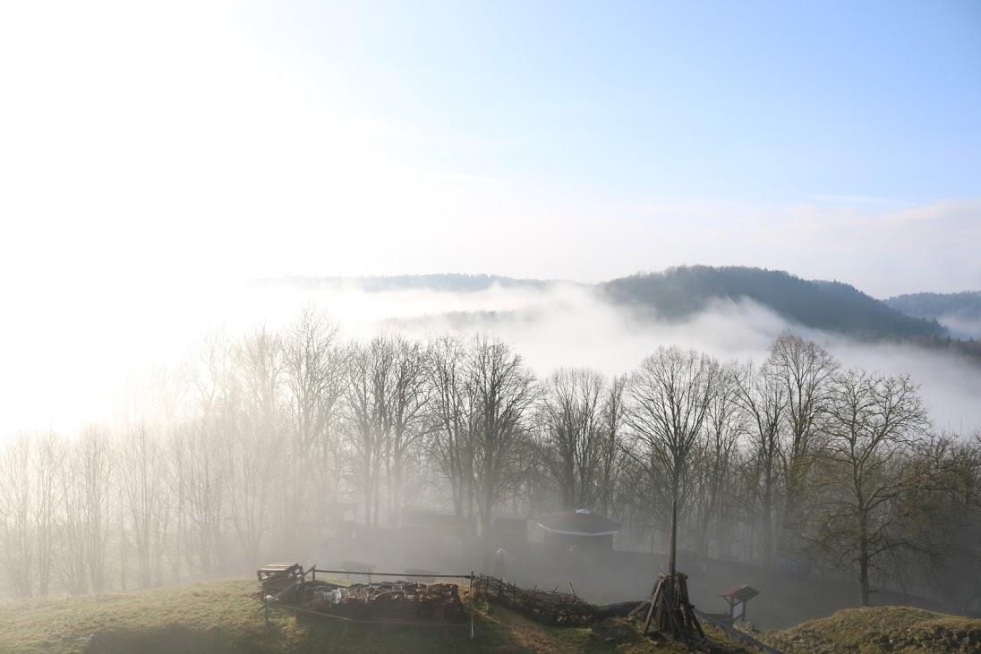 Schaumberg im Nebel
