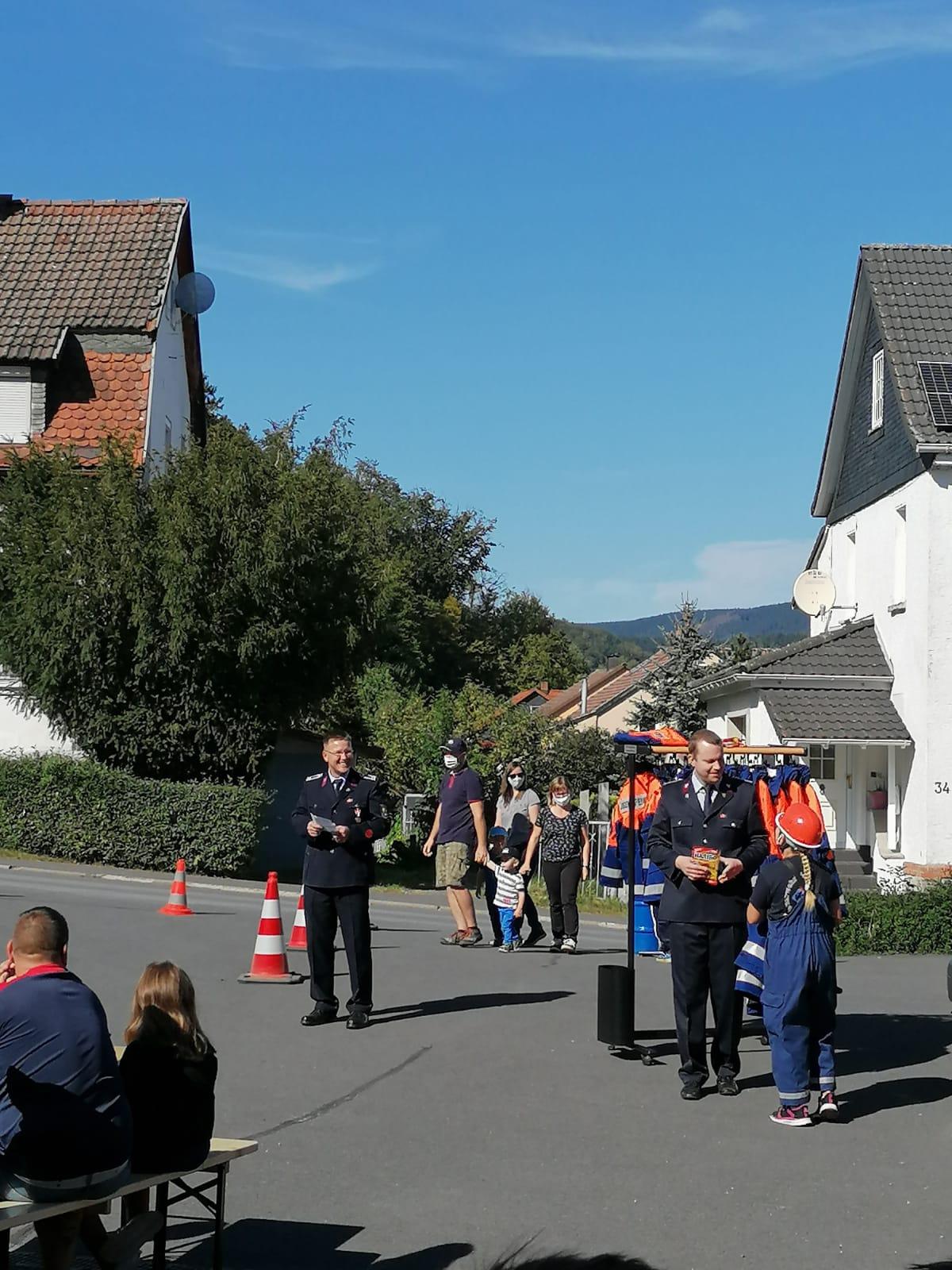 Kinderfest bei der Feuerwehr